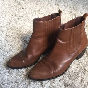 J. Crew Chelsea ankle boot size 7.